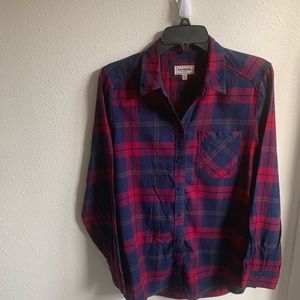 EXPRESS women's plated shirt